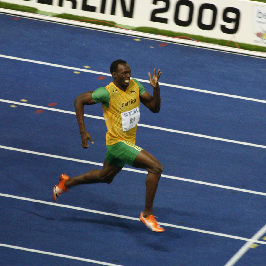 How Fast Can Usain Bolt Run Maths And Sport Track Wiring Diagrams